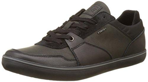 Geox Herren U Box A Sneaker, Schwarz (Black), 40 EU
