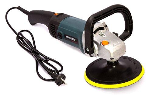 Profi Poliermaschine Polier Schleifmaschine 2400W 180mm + Polierfell (PMF103220)