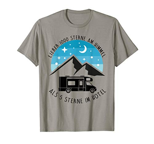 Lieber 1000 Sterne Wohnmobil T Shirt | Camping | tshirt