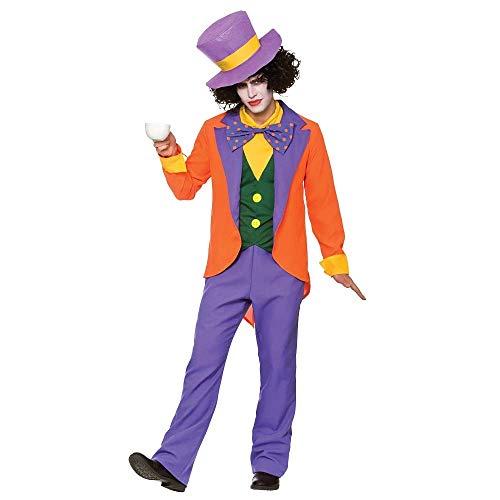 Ideen Mad Für Kostüm Hatter - Mad Hatter Fancy Dress Costume Large - 44