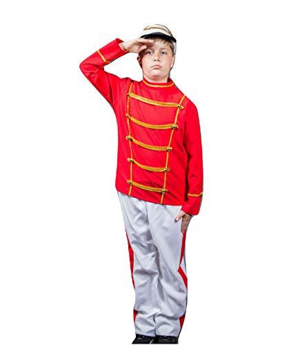 KarnevalsTeufel, Kostüm für Kinder Der Nussknacker, Weihnachtssoldat, Offizier, -