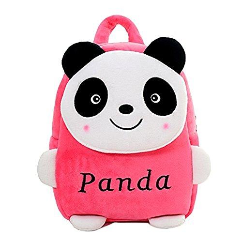 Pandora Velvet Kids School/Nursery/Picnic/Carry/Travelling Bag – 2 to 5 Age (Panda)