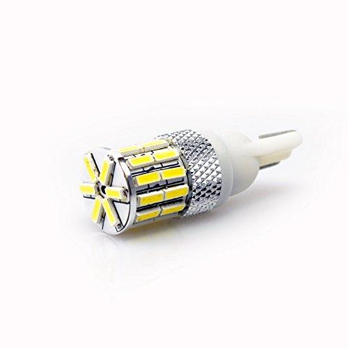 Lumiplux T10 W5W 168 194 12V Blanc LED Ampoule de Voiture 30X4014SMD (Pack de 2)