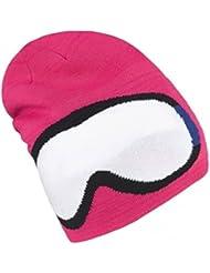 Brekka Gafas de sol del sombrero del bebé largo esquí BRF14 J236 FUX