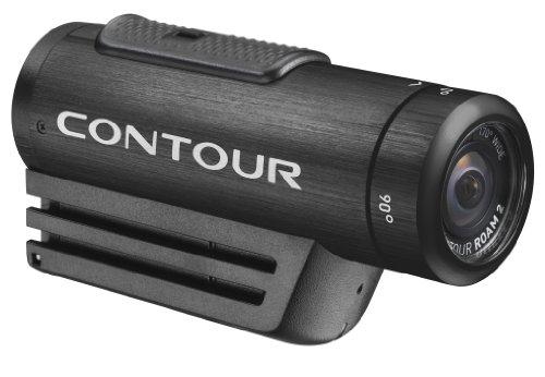 Contour ROAM 2 Video macchina fotografica impermeabile, Ancora più semplice fotocamera da utilizzare sul mercato, il blocco istantaneo on-Record interruttore rende facile PN: 1800