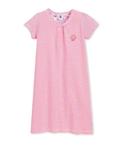 Petit Bateau Bench, Camicia da Notte Bambina, Multicolore (Joue/Ecume), 3 Anni