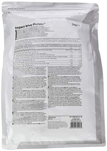 Myprotein Impact Whey Protein (1kg-Beutel) - 4