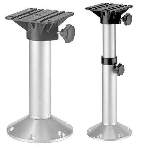 Stuhlfuss aus Aluminium für Bootssitz (340 - 510 mm)