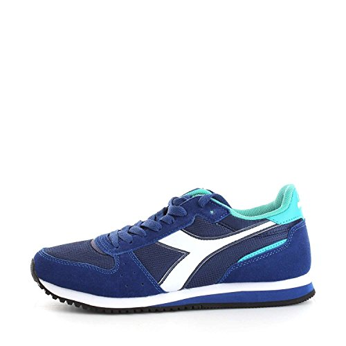 Diadora Malone W, Sneaker a Collo Basso Donna Blueprint/Ceramic