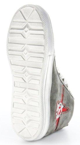 Richter Kinderschuhe  7742-321-6611 - grau, Chaussures de ville à lacets pour garçon Gris - Gris