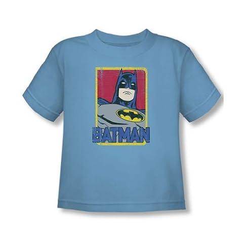 Batman - - Tout-petit T-shirt primaire en Caroline bleu, 2T,
