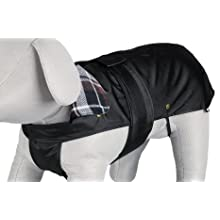 Trixie 30501 Paris Dog Coat, 33 cm Length, black