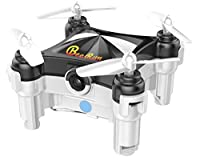 Beebeerun Mini Drone with Camera RC Quadcopter Small Drone for Kids Easy to Fly FPV Phone APP Wifi or Transmitter Remote Control Gravity Sensor Dance Mode Altitude Hold 360 Degree Flips Rolls from Beebeerun