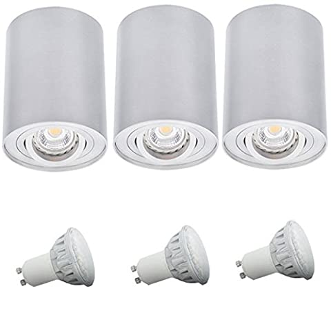 3 set ceiling lamp kitchen floorboards lamp cylinder form can be set in the set included LED light