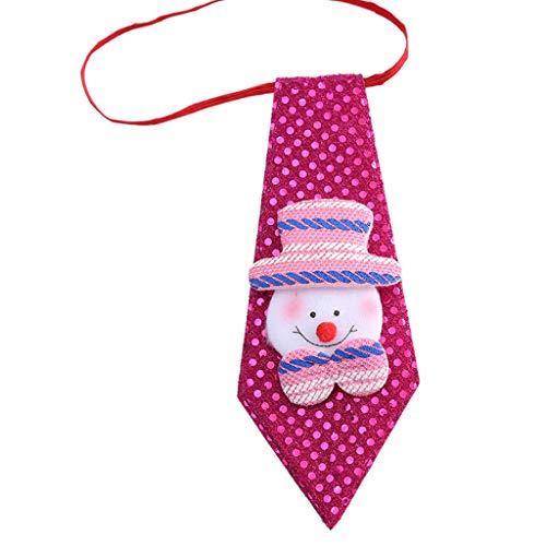 Erwachsene Kind Pailletten Glitter Weihnachten Krawatte Party Kostüm Elastische Krawatte Dress ()