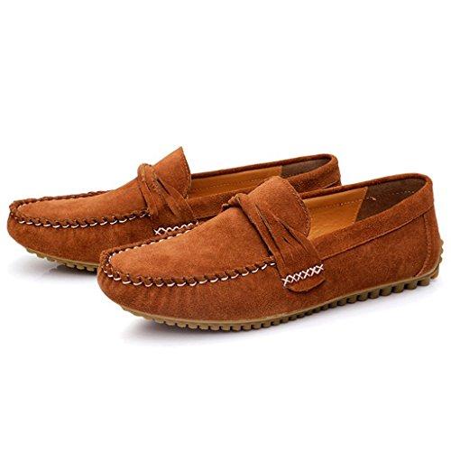Minitoo , Sandales Compensées homme Marron - marron