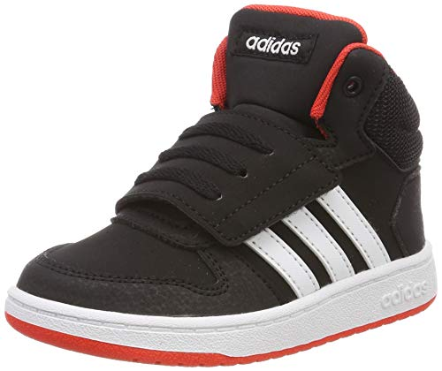 finest selection 5e74f 687b9 adidas Hoops Mid 2.0 I, Sneakers Basses Mixte bébé, Multicolore (Core Black