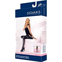 Sigvaris Truly Transparent Thigh High With Grip Top 20-30mmHg Closed Toe Short Length, Small Short, Black by Sigvaris preisvergleich bei billige-tabletten.eu