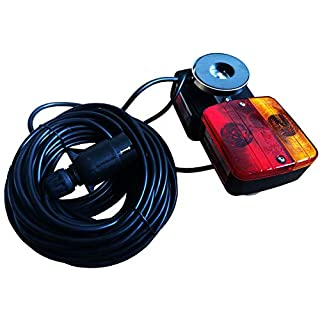 ANZ TRAILER REAR LIGHT SET LIGHT BOARD TOWING LAMPS 5 METER CABLE-MAGNETIC