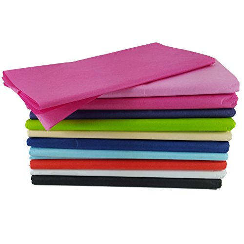 50 x Tissue paper sheets - gift wrap - acid free – various pack options - blu SKIDDOO TM