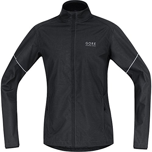 Gore Running Essential Windstopper Active Shell Partial Jacket Black Nero