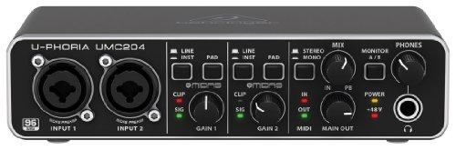 Behringer U-PHORIA UMC204 - Interfaccia audio per computer