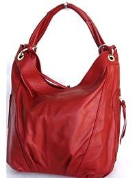 Cabas, Shopper en cuir, étui de poche avec fermeture à glissière XXL Mod. 2005-p Italie