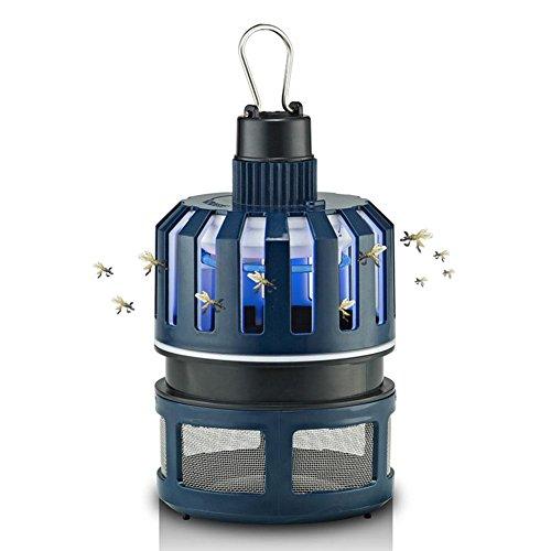 WXHNFHL Moskito-Fallen Elektronischer Moskito-Mörder Saugart Moskito-Lampe Schlafzimmer 360 ° Anti-Moskito Nano-Lichtwelle Stumm Strahlungsfrei Wandbehang Schwarz 11,5 * 19,5 cm