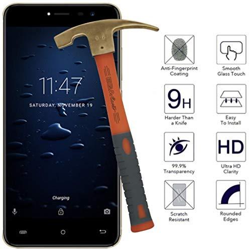 All Phone Store Displayschutz aus Hartglas 9H für Cubot Note Plus