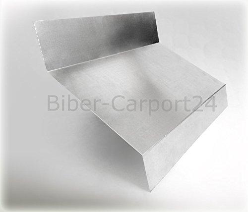 Brustblech 18 in Aluminium oder Titanzink (18-2 Aluminium 1m)