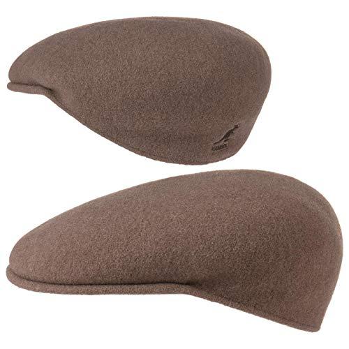 kangol Kangol Headwear Wool 504 Flat Cap Gr. 54, braun