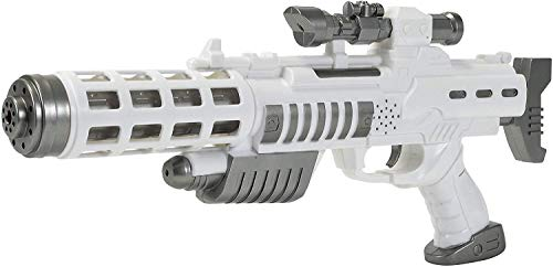 Simba 108046945 - Planet Fighter Light Blaster Gewehr