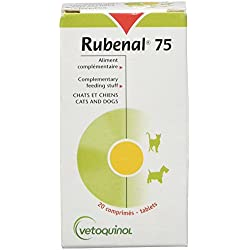 Vetoquinol Rubenal pour Chien Boîte de 20 Comprimés 75 MG
