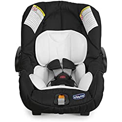 Chicco Key Fit - Silla de coche grupo 0+ con reductor para los primeros meses, color negro (Night)