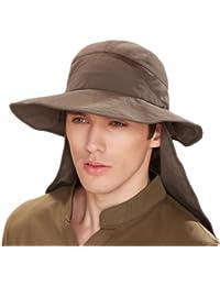Kenmont hommes d'été, large bord, de protection solaire Ouest Cowboy Hunt Chapeau Fishmen Cap