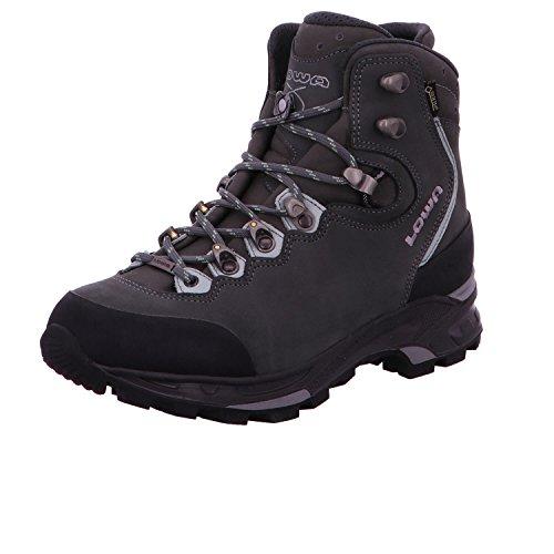 Lowa Mauria Gtx Ws, Stivali da Escursionismo Donna asphalt/jade