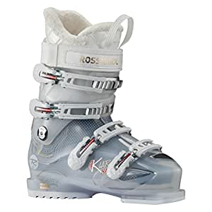 Rossignol - Chaussure de ski Rossignol Kiara Sensor 80 Snow White - Femme - 26.5 MDP (41)