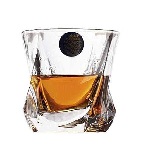 Crystal Glass Whisky Cups Verres à vin Bar Outils Verrerie Verres à bière 210 ML-A9