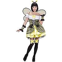 Das Kostümland Disfraz de abeja para mujer, talla M