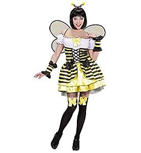 WIDMANN Das Kostümland Disfraz de abeja para mujer, talla M