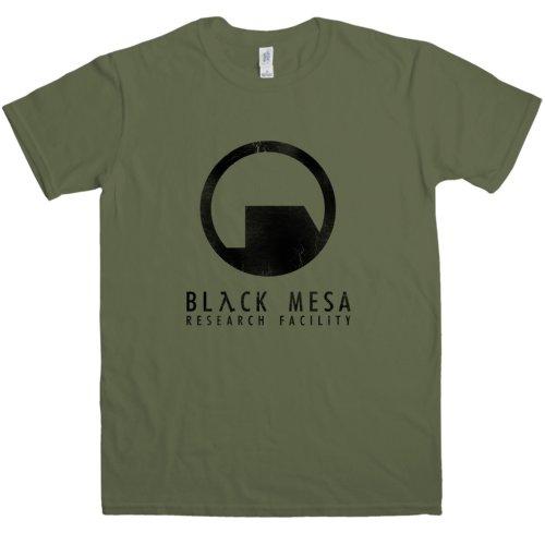 Refugeek Tees - Herren Black Mesa T Shirt - X-Large - Olive Mesa Olive