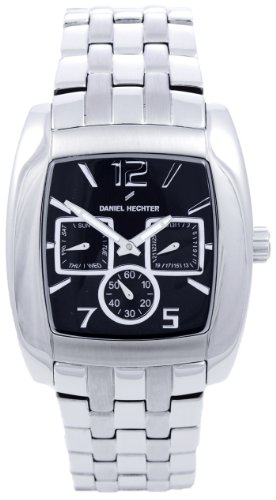 Daniel Hechter men's Quartz Watch Analogue Display and Stainless Steel Strap DH01111NNA
