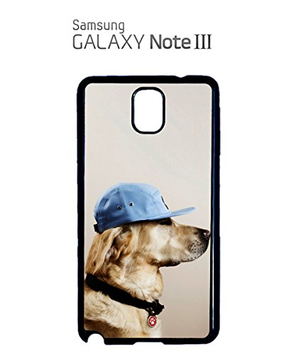 Hat Dog Funny Cool Soldier Baseball Mobile Phone Case Samsung Note 3 White Blanc