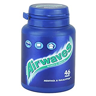 Wrigley's Airwaves Menthol & Eucalyptus 46 Pellets 64g Case of 6