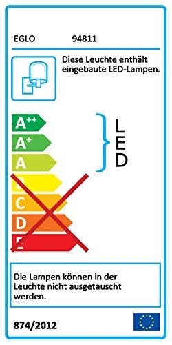 Eglo Inkl. LEDs 7,4 W, 560 lm, Warmweiß (3.000 K)
