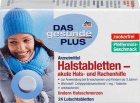 DAS gesunde PLUS Halstabletten - akute Hals- und Rachenhilfe, 1 x 24 St Arzneimittel