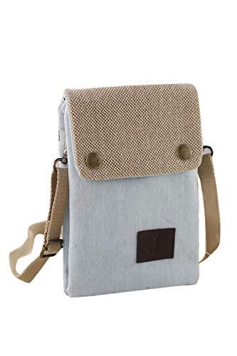 Jumojufol Unisex Harper Crossbody Tasche Frauen Kleine Telefon Brieftasche Handtasche gray One Size