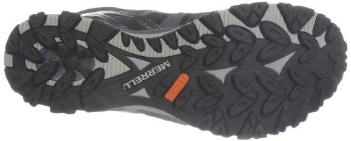 Merrell Grassbow Mid Sport Gtx, Chaussures de randonnée montantes homme Black/Silver
