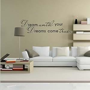 diy phrase citation d coration mur autocollant sticker salon d 39 etude chambre jeux et. Black Bedroom Furniture Sets. Home Design Ideas