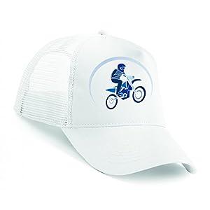 Snapback Aktion- Motocross- Fahrrad- Biker- AUSDAUER- Sprung- Bewegung- Rennfahrer- Rennsport- Geschwindigkeit Unisex Baseballmütze Trucker Mützen Base Caps